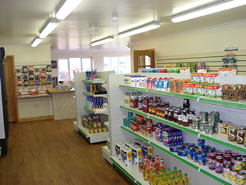 View of inside Shop looking towards Reception