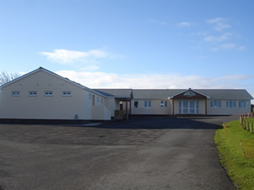 View of new Reception, Shop & Toilet Block Facilities